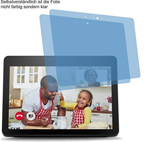 4ProTec I 2X ANTIREFLEX matt Displayschutzfolie für Amazon Echo Show...