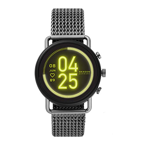 Skagen Smartwatch HR Falster 3 - Milanaise Tracking der Herzfrequenz,...