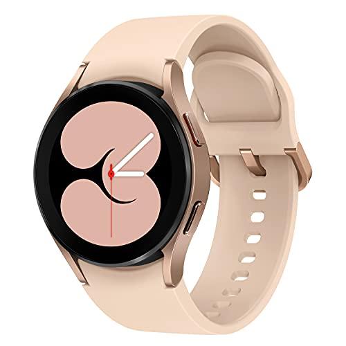Samsung Galaxy Watch4, Runde Bluetooth Smartwatch, Wear OS, dreh-bare...
