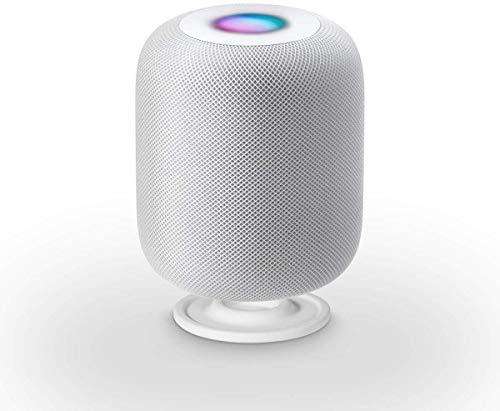 Lanmu Anti-Rutsch-Silikon-Stoßd?mpfer Für Apple Homepod Weiß