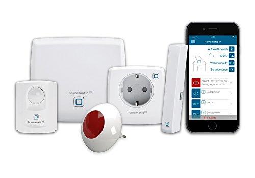 Homematic IP Smart Home Starter Set Sicherheit plus - Intelligenter...