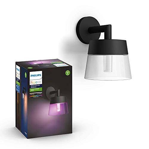 Philips Hue White and Color Ambiance LED Außenwandleuchte Attract,...