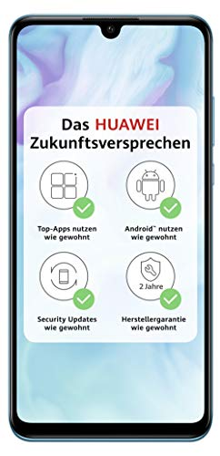 HUAWEI P30 lite Dual-SIM Smartphone Bundle (6,15 Zoll, 128 GB ROM, 4...