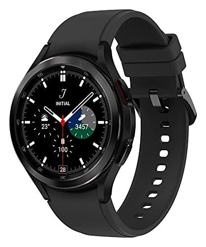 Samsung Galaxy Watch4 Classic, Runde Bluetooth Smartwatch, Wear OS,...