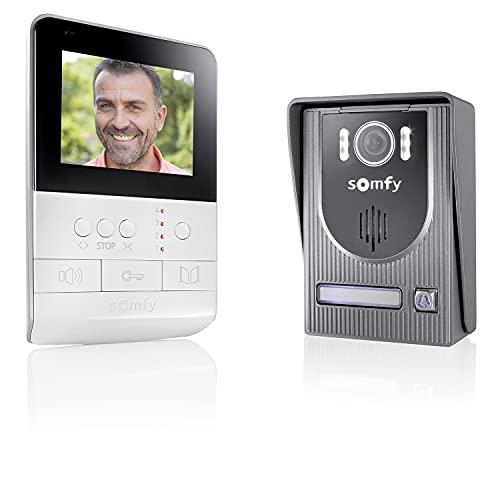 Somfy 2401330 - Farb-Videotürsprechanlage V100 inkl. Display,...