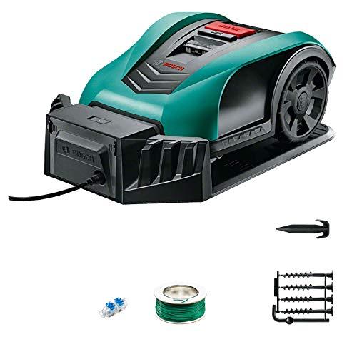 Bosch Roboter Rasenmäher Indego 350 (19 cm Schnittbreite, für...