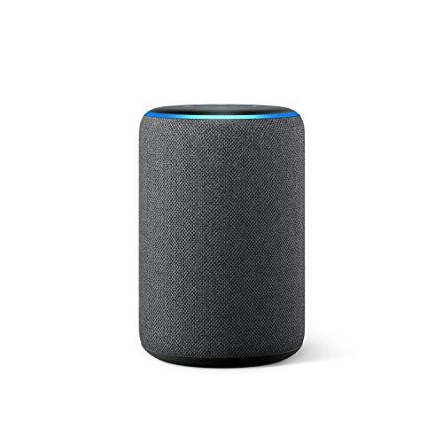 Amazon Echo (3. Gen., vorherige Generation), Anthrazit Stoff,...