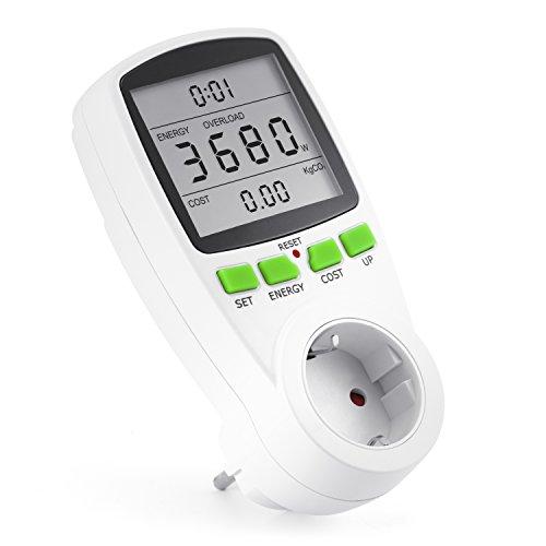 Arendo - Energiekostenmessgerät - Stromverbrauchszähler -...
