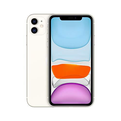 Apple iPhone 11 (64GB) - Weiß (inklusive EarPods, Power Adapter)