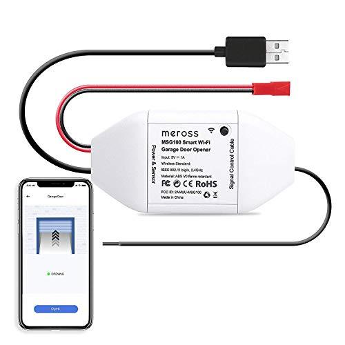 meross Smart WLAN Garagentoröffner, APP-Steuerung, Kompatibel mit...
