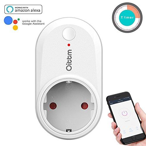 Oittm Smart Plug Kompatibel mit Alexa und Google Home Smart Steckdose...