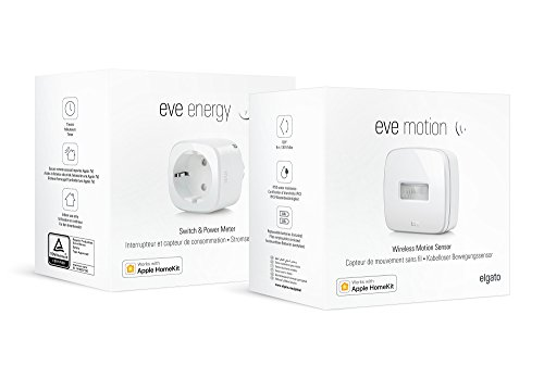 Eve Bewegungsmelder-Set – Eve Motion und smarte Steckdose Eve...