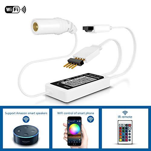 Anten Wifi Controller Für Led Streifen RGB, Fernbedienung kompatibel...