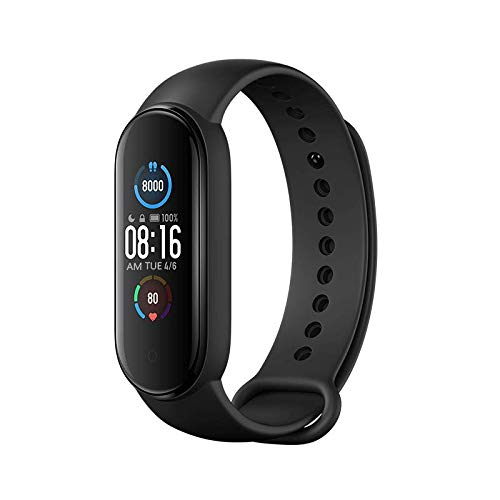 Xiaomi Mi Band 5 Smart Wristband Fitness Armband 1,1 Zoll Farbdisplay...