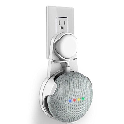Steckdose Wandhalterung für Google Home Mini, SPORTLINK Halterung...