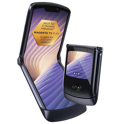 Motorola razr 5G (6,2'-/2,7'-Display, 48-MP-Kamera, 8/256 GB, 2800...