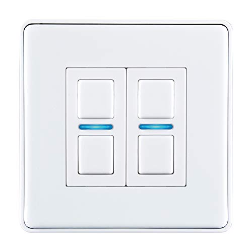 Lightwave L22 Smart Series Dimmer, 250 W, 230 V, weiß, L22WH