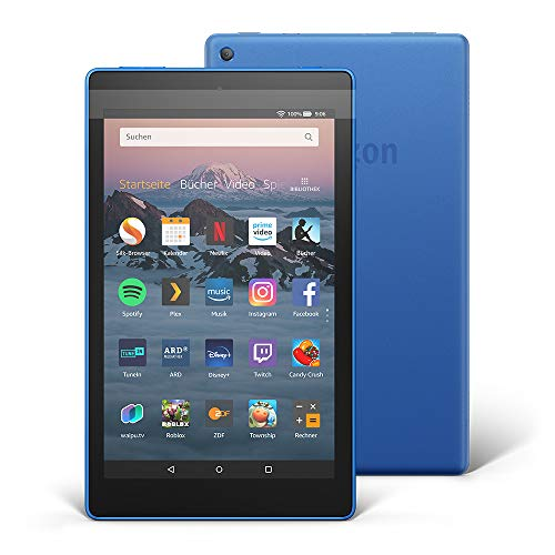 Fire HD 8-Tablet, 16 GB, Blau, Mit Werbung (vorherige Generation –...