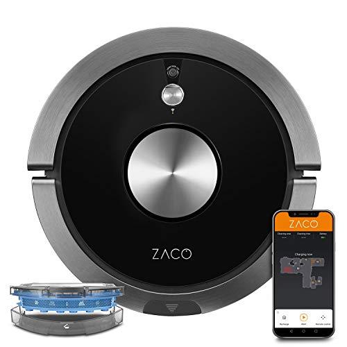 ZACO A9sPro Saugroboter mit Wischfunktion, App & Alexa Steuerung,...