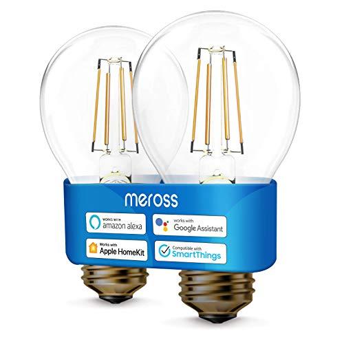 WLAN Edison Vintage Glühbirne funktioniert mit Apple HomeKit, Meross...