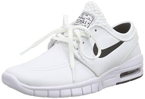 Nike Unisex-Erwachsene Stefan Janoski MAX L Low-Top, Weiß (100...