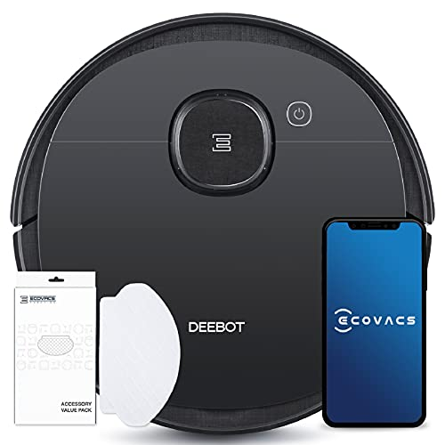 ECOVACS DEEBOT OZMO 950 Care, Saugroboter mit Wischfunktion + 50...