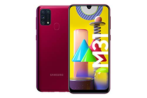 Samsung Galaxy M31 Android Smartphone ohne Vertrag, 4 Kameras, großer...