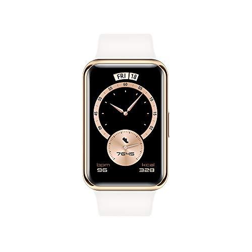 Huawei Watch Fit Elegant Edition - Smartwatch mit Metallgehäuse, ca....