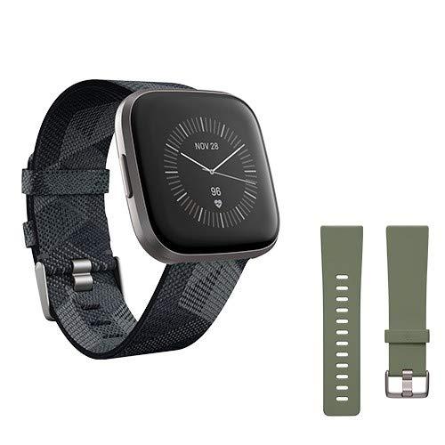 Fitbit Versa 2, Special Edition, Gesundheits- und Fitness-Smartwatch...