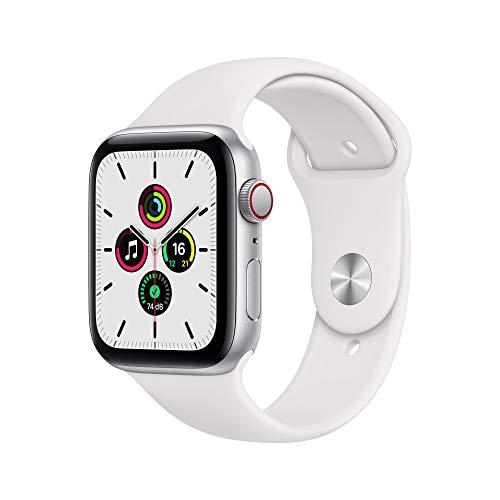 AppleWatch SE (GPS+ Cellular, 44mm) Aluminiumgehäuse Silber,...