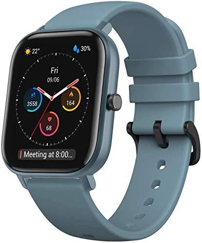 Amazfit Smartwatch GTS Farbdisplay Fitness Sportuhr 5 ATM wasserdicht...