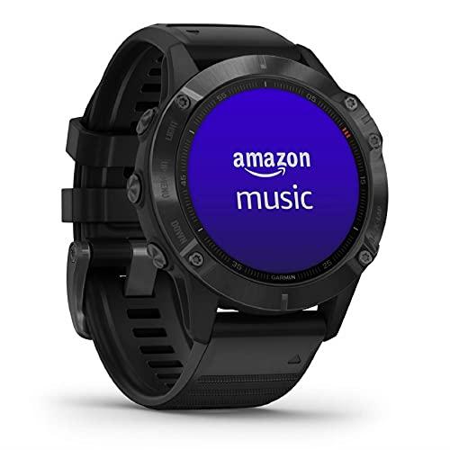 Garmin fenix 6 PRO - GPS-Multisport-Smartwatch mit Sport-Apps, 1,3'...