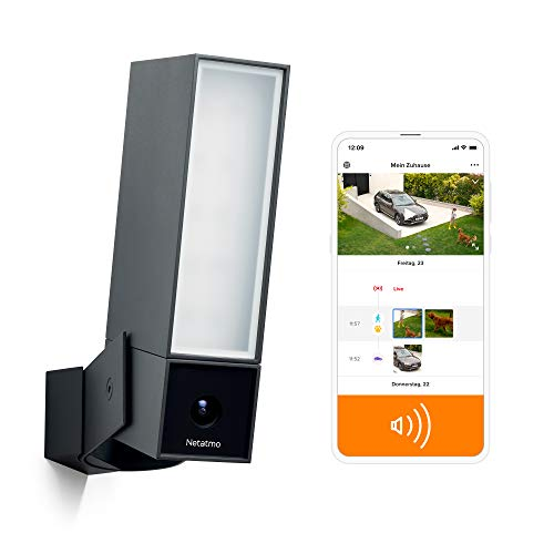 Netatmo Smarte Überwachungskamera für den Außenbereich mit 105...
