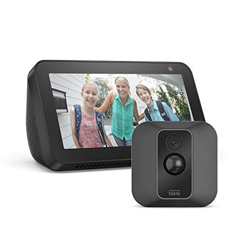 Blink XT2 System mit 1 Kamera + Echo Show 5, Schwarz, funktioniert mit...
