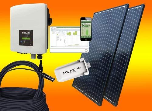 Solax 600Watt Balkonkraftwerk OHNE Montagematerial/Solaranlage mit...