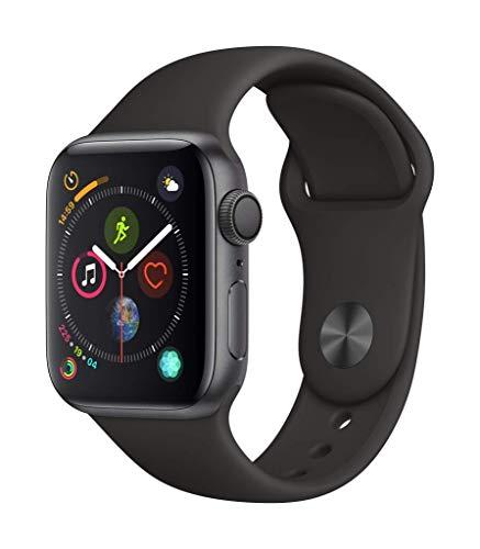Apple Watch Series 4 (GPS, 40mm) Aluminiumgehäuse Space Grau -...