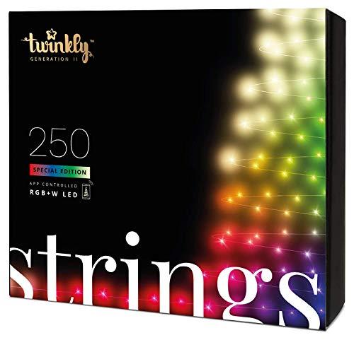 Twinkly - TWS250SPP Special Edition 250 RGB + Weiße LED-Lichterketten...