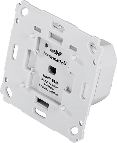 Homematic IP Smart Home Schalt-Mess-Aktor für Markenschalter,...