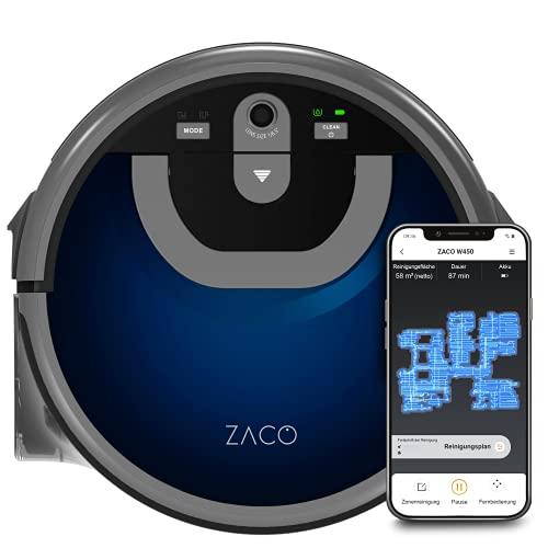 ZACO W450 Wischroboter mit extra Frisch- und Schmutzwassertank...