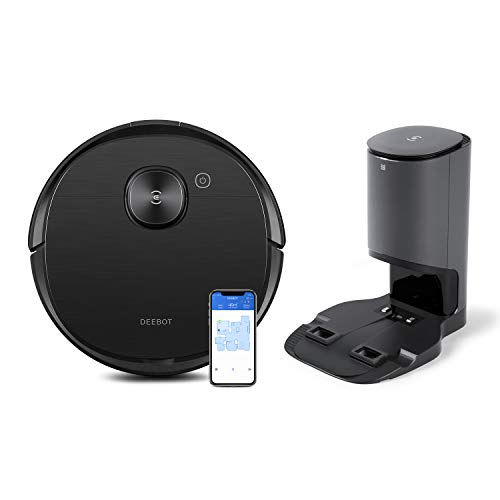ECOVACS DEEBOT OZMO T8 AIVI+: Saugroboter mit aktiver Wischfunktion...