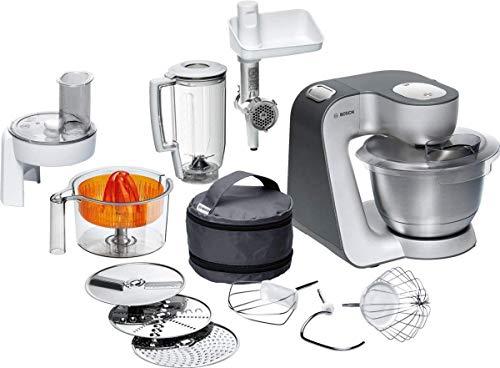 Bosch Küchenmaschine MUM5 Styline MUM56340, Schüssel 3,9 L, Mixer...