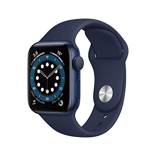 AppleWatch Series6 (GPS, 40mm) Aluminiumgehäuse Blau,...