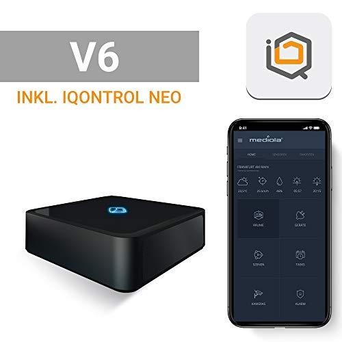 mediola AIO Gateway V6 (inkl. IQONTROL NEO App), schwarz