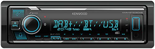Kenwood KMM-BT506DAB USB-Autoradio mit DAB+ und Bluetooth...