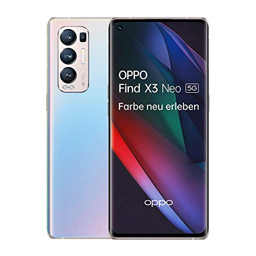 OPPO Find X3 Neo 5G Smartphone, 6,5 Zoll 90 Hz AMOLED Display, 50 MP...