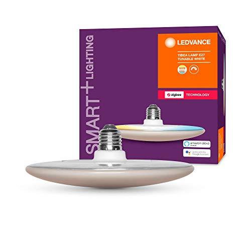 LEDVANCE Smart+ LED, ZigBee Lampe mit E27 Sockel, warmweiß bis...