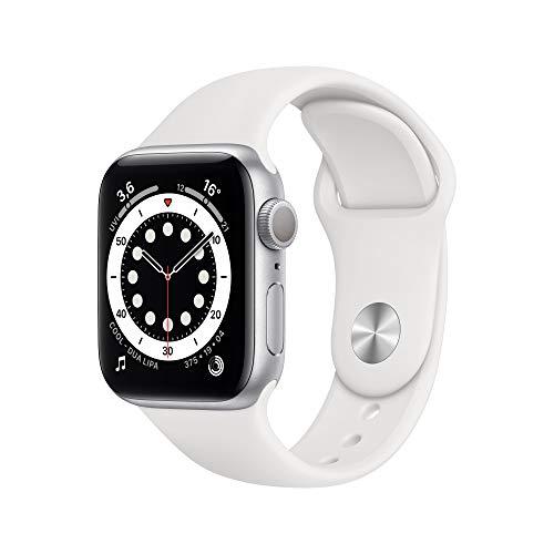 AppleWatch Series6 (GPS, 40mm) Aluminiumgehäuse Silber,...