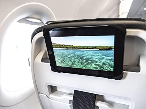 TRIPFLIX ® universal Tablethalter für Flugzeugsitze | roll- und...
