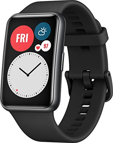 HUAWEI WATCH FIT Smartwatch, 1,64 Zoll AMOLED-Display,...