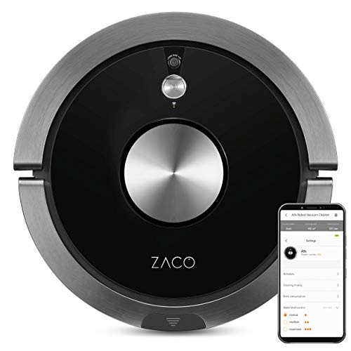 ZACO A9s Saugroboter mit Wischfunktion, App und Alexa Steuerung, 2 Std...